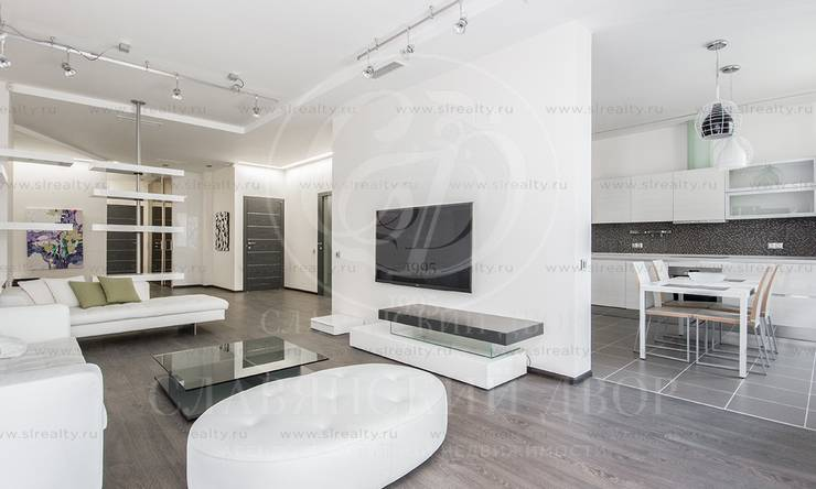 Стильная квартира сдизайнерским ремонтом вЖК «Дом на покровском бульваре»