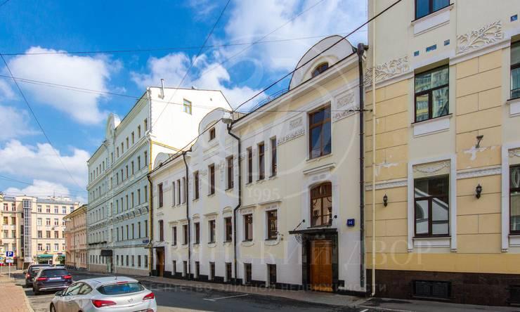 Продажа здания впереулке Остоженки