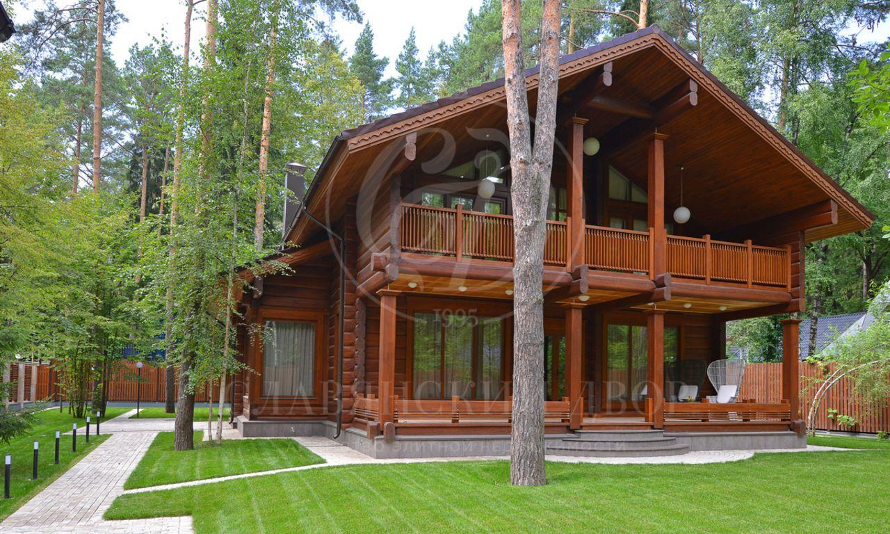 Новый дом из лиственницы вПеределкино