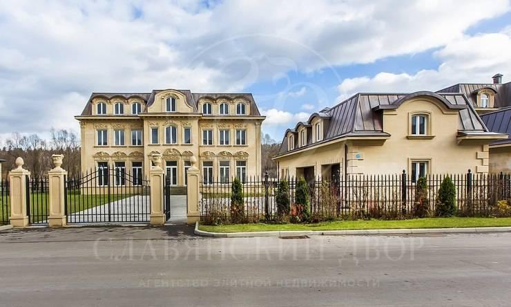 Продажа дома впоселке Французский квартал, Новорижское шоссе