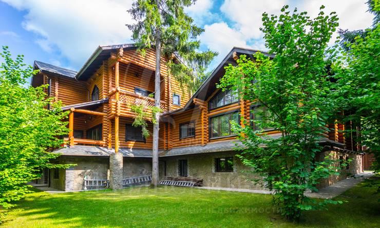 новый деревянный дом всостоявшемся поселке !